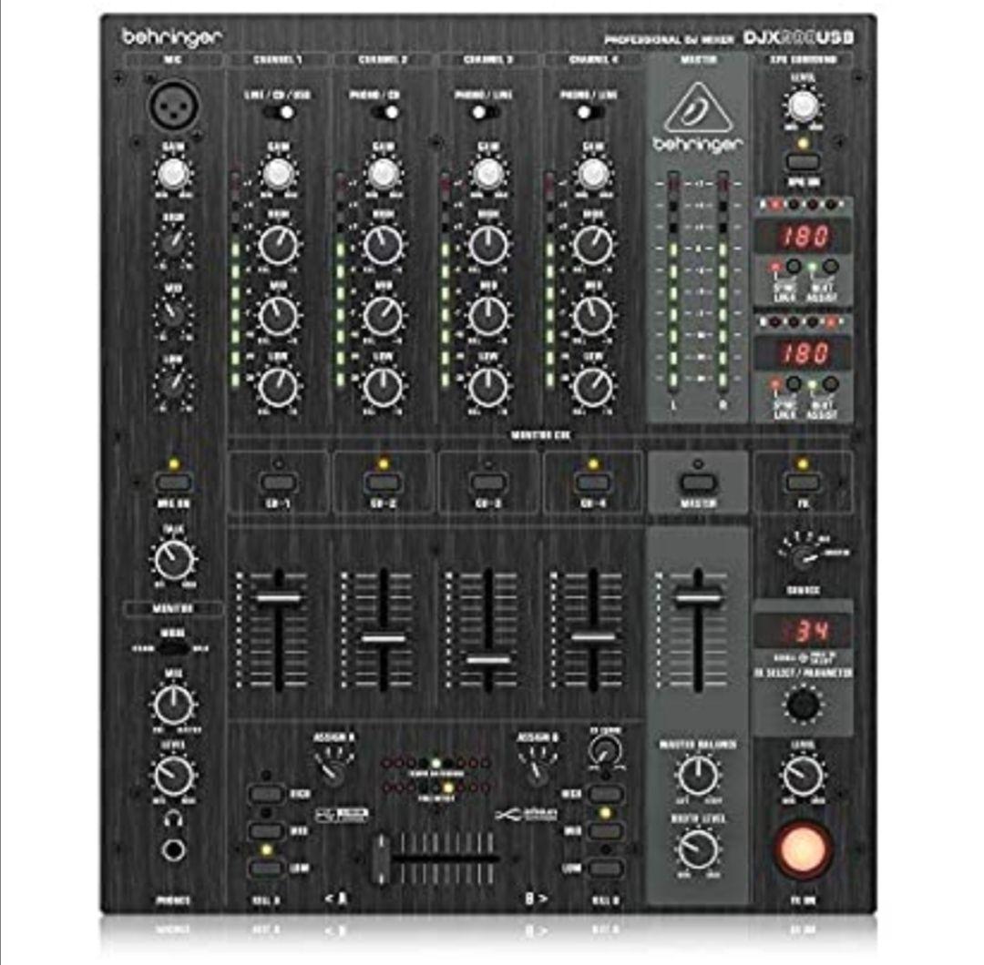 DJ Pro Mixer profesional – DJX900USB