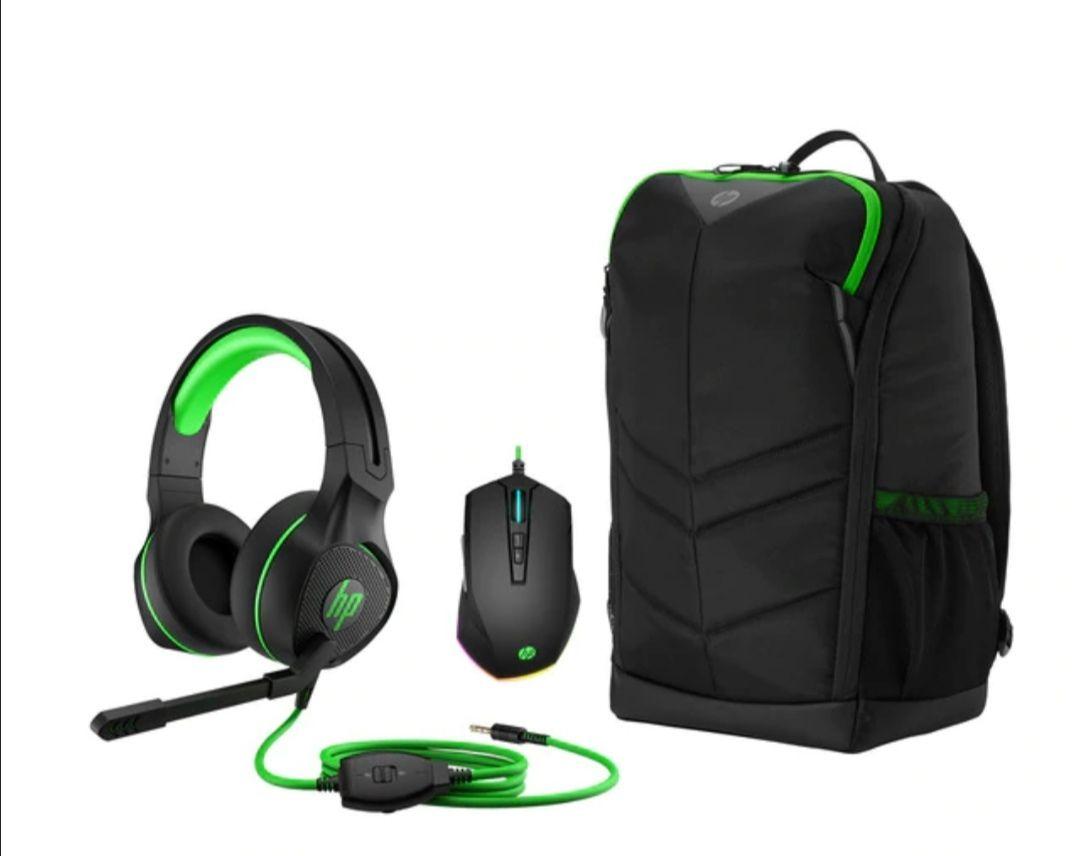 Pack Gaming HP auriculares Pavilion Gaming 400 + mochila Pavilion Gaming 400 + ratón