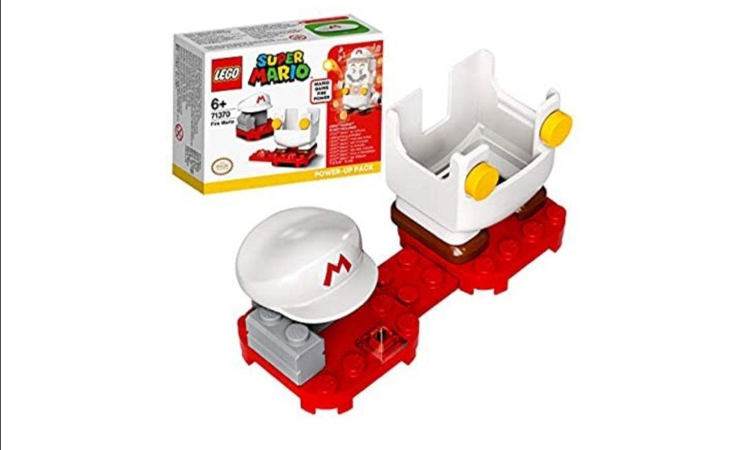 LEGO Super Mario Pack Potenciador, Set de Expansión, Disfraz para Juguete Fire Power