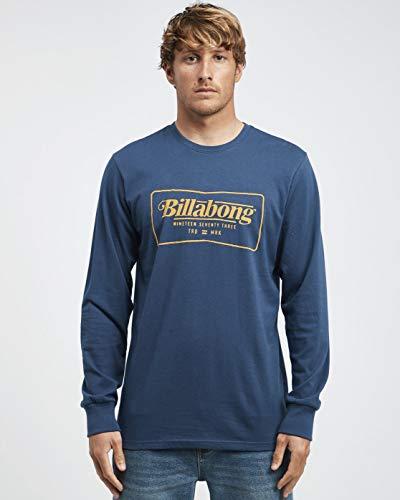 TALLA S - BILLABONG™ Trade Mark - Camiseta de Manga Larga para Hombre