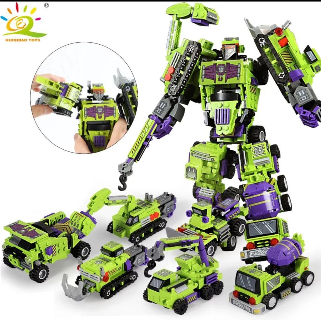 Robot transformable 709 piezas