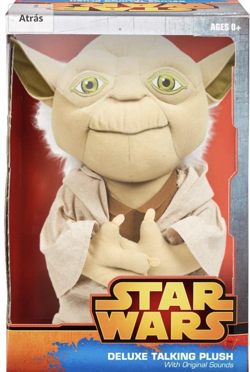 Star Wars- Peluche hablador de Yoda
