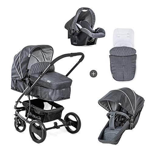 Hauck Pacific 4 Shop N Drive - Carro de Bebe de 6 Piezas, hasta 25 kg