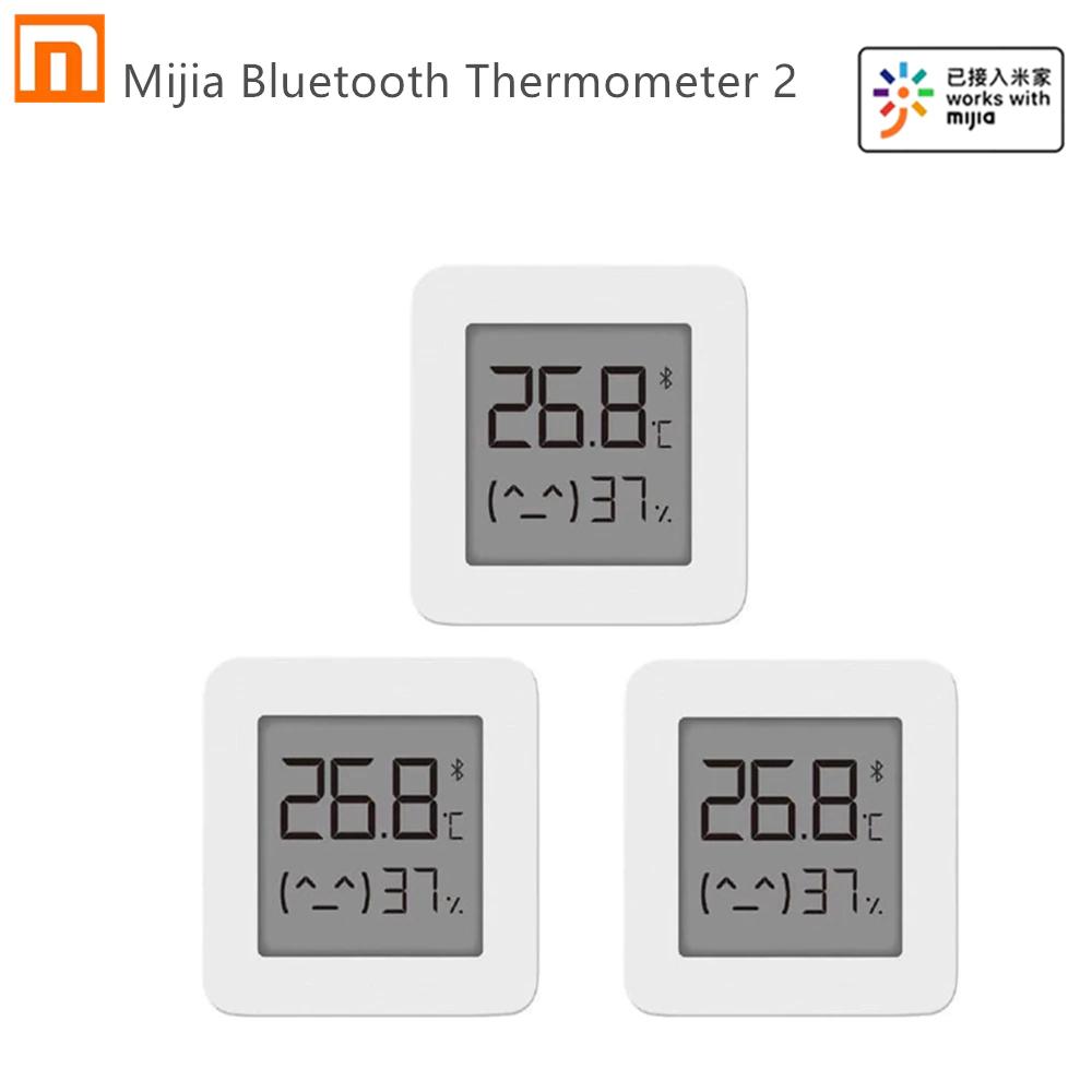 Pack 3 termómetros Xiaomi por 8,38€ // 4 uds por 10,44€
