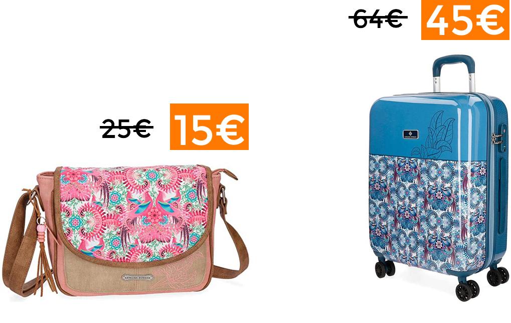 Descuentos en selección bolsos y maletas Catalina Estrada