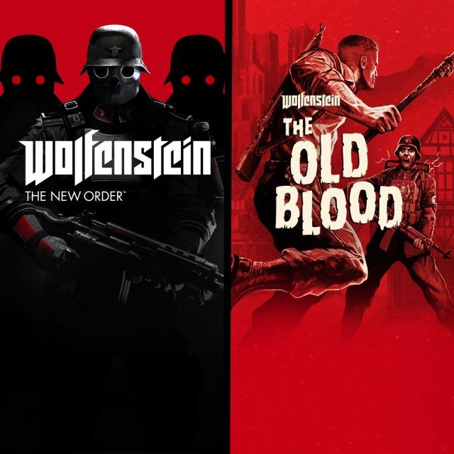 XBOX :: Wolfenstein The Two Pack y 70% Saga Wolfenstein