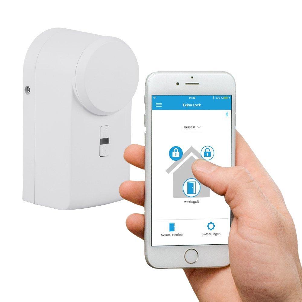 Eqiva Bluetooth Smart cierre de puerta, tracción, 142950 A0