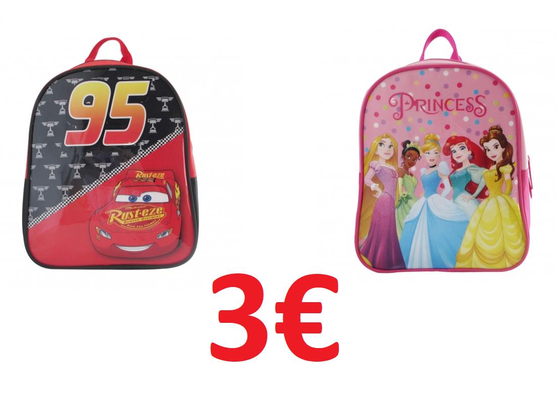 Mochila infantil 3€ (Disponible Click & Collect en 2 horas)