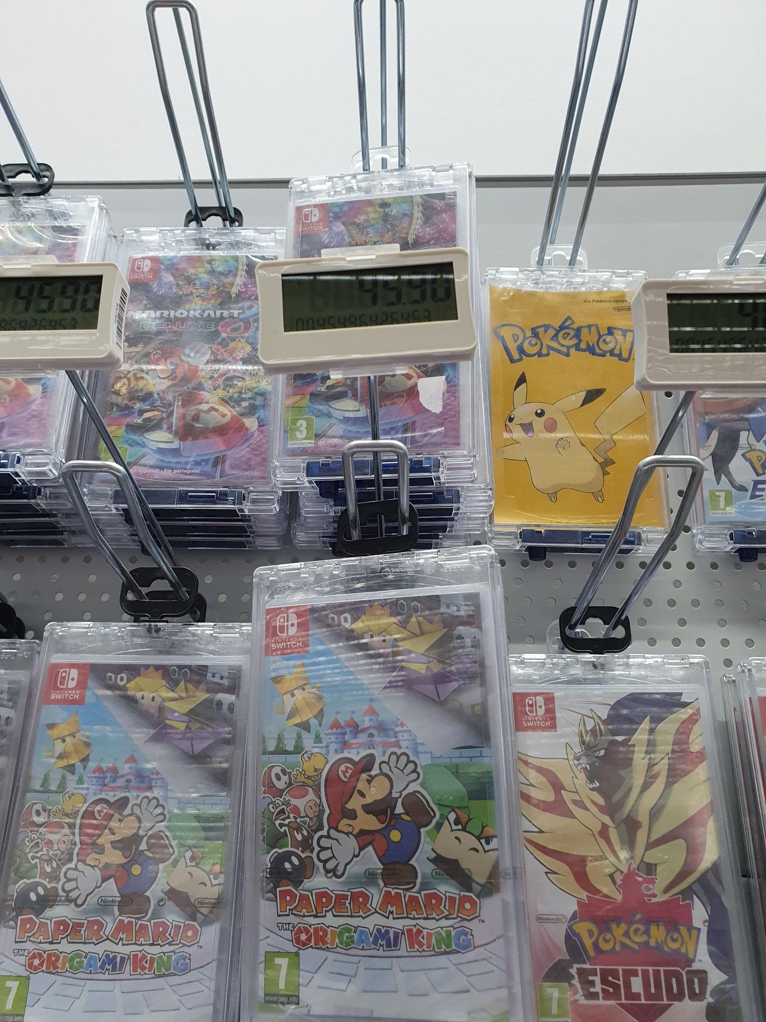 Juego Paper Mario Switch.Mediamark Zaragoza