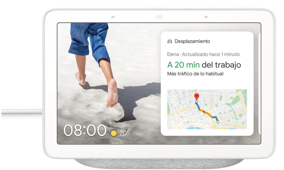 "Google Nest Hub 7"" IPS solo 59.9€"