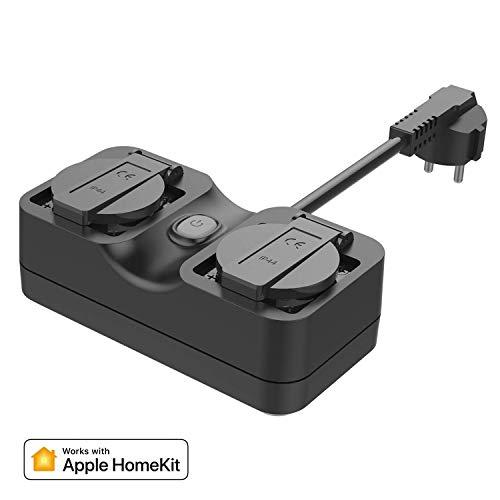 Enchufe Inteligente compatible con Apple HomeKit, Siri Alexa y Google Assistant