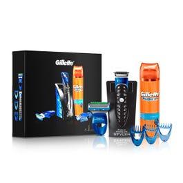 GILLETTE Pack Fusion Proglide Styler: Maquinilla de afeitar Fusion Styler + 3 peines distintos + gel