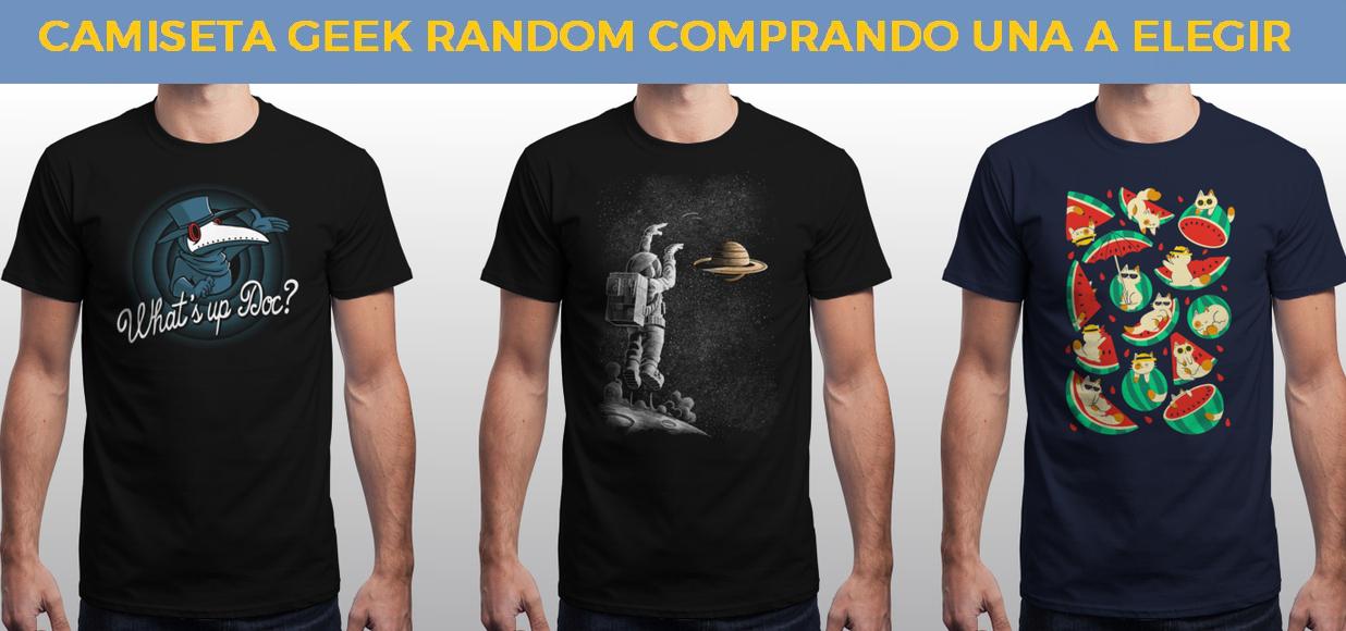 Segunda camiseta Geek gratis estilo random