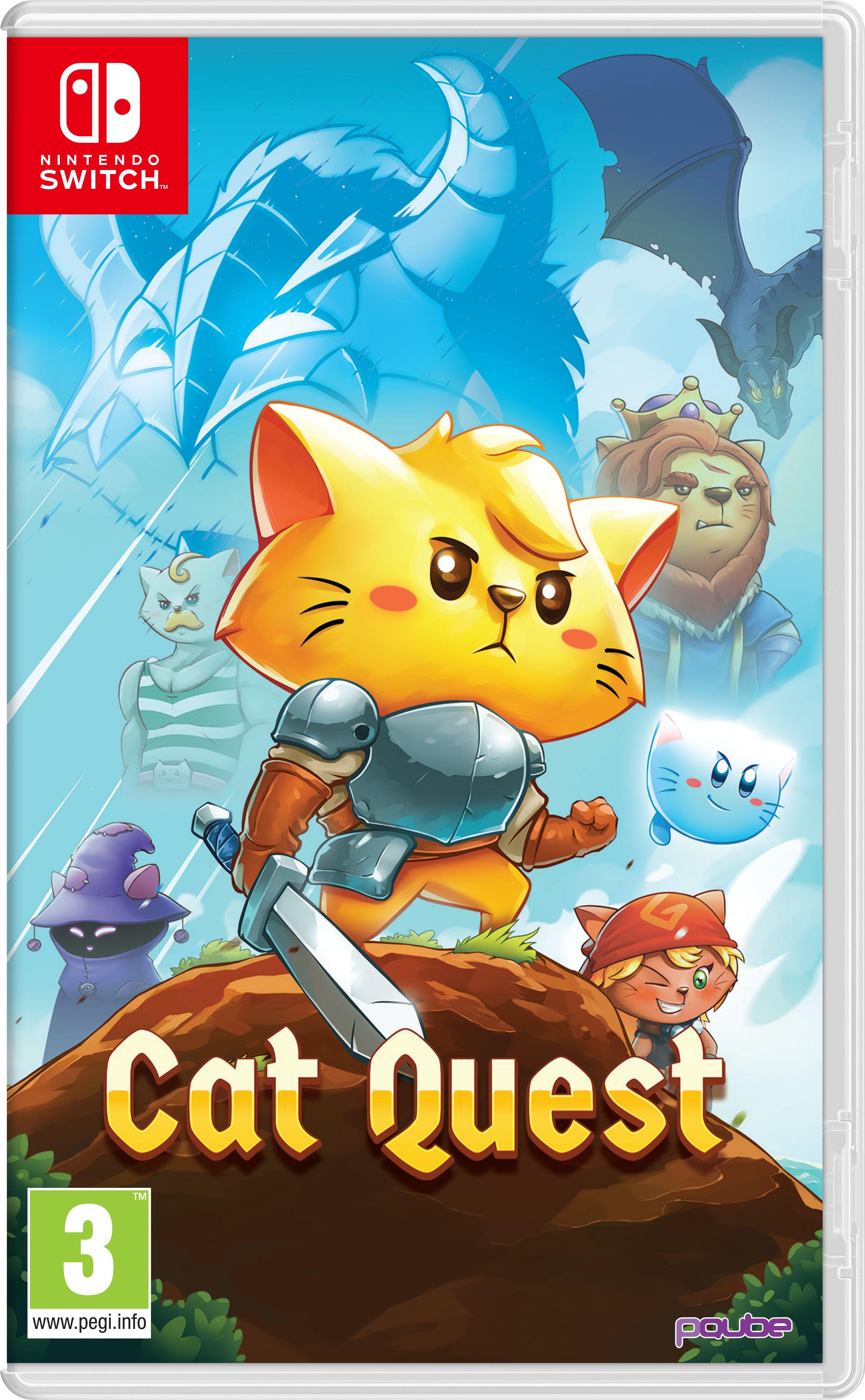 Cat Quest 1 y 2 en Ofertas para Switch (1,39€ SUD)