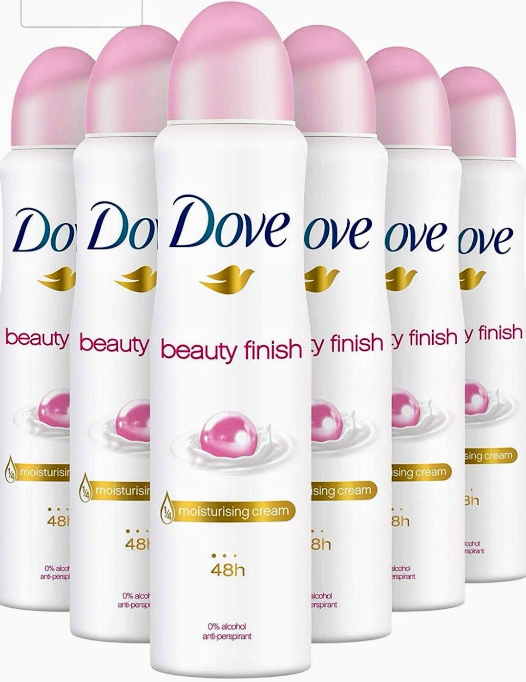 Dove Desodorante Beauty Finish [6 UNIDADES]
