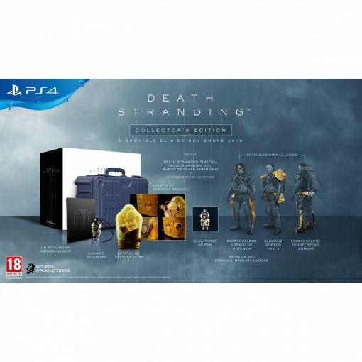Death Stranding Edición Coleccionista para PS4 - Outlet. Producto reacondicionado