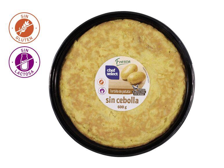 Tortilla de patatas con cebolla / sin cebolla - Lidl