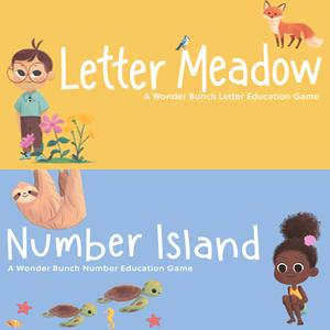 IOS :: 2 Apps educativas para niños, Letter Meadow y Number Island