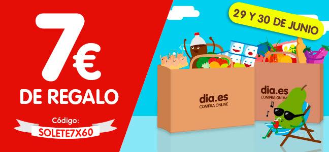 CUPON SUPERMERCADO COMPRA ONLINE 7€ con un min de 60€