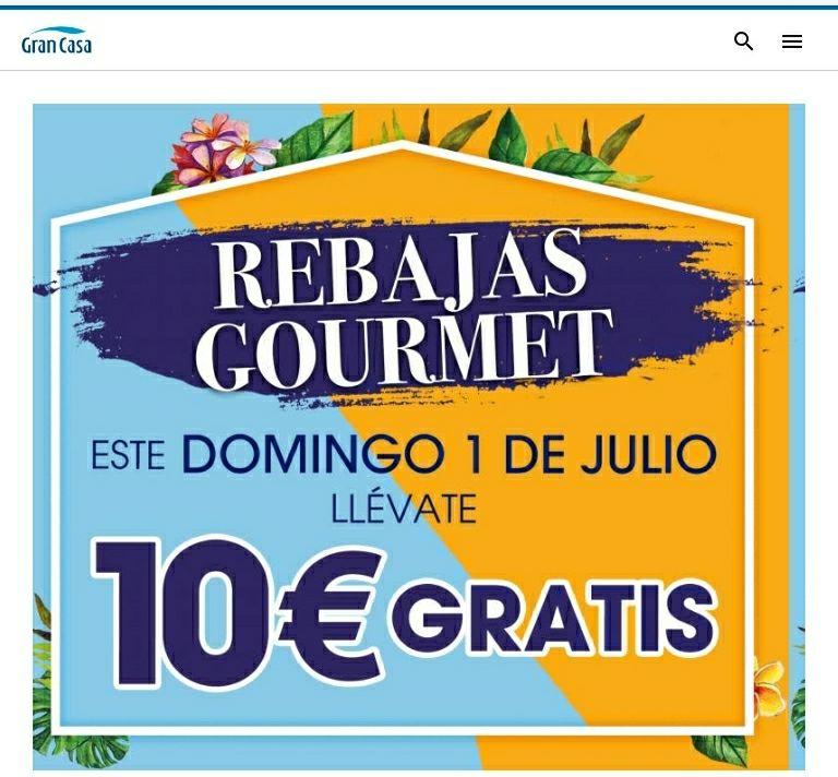 CENTRO COMERCIAL • GRANCASA •  en Zaragoza ....10€ descuento