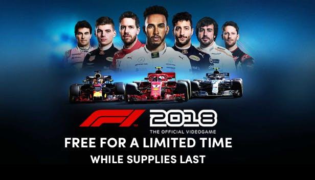 Humble Bundle: F1 2018 - PC GRATIS