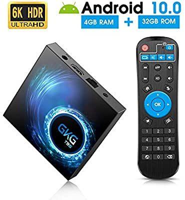 GKG TV Box con Android 10.0 4GB/32GB(oferta Flash)