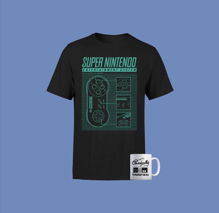 Pack Nintendo ¡Llévate una camiseta + taza Nintendo por solo 9,99 €