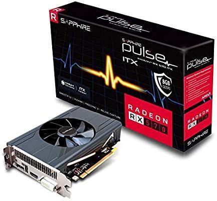 tarjeta gráfica AMD Sapphire Pulse Radeon RX 570 ITX 8G, 8192 MB GDDR5