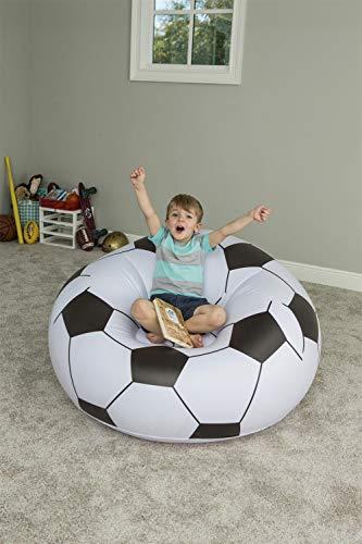 Puf hinchable Bestway Balón Fútbol