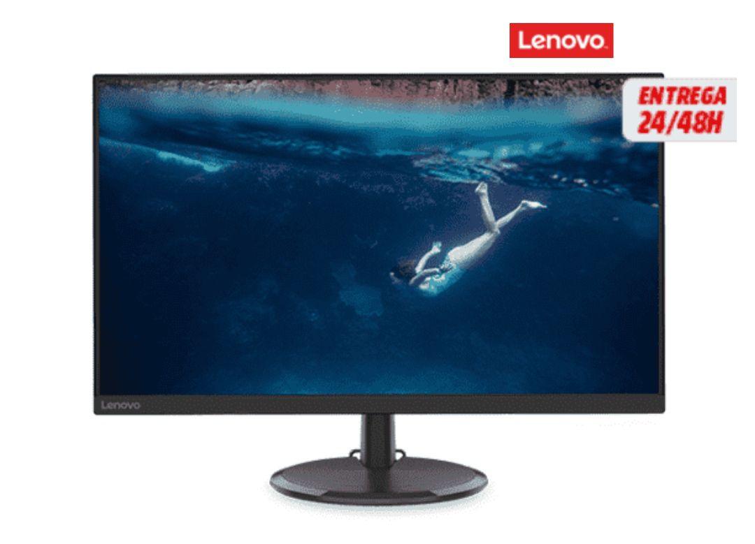 """Monitor - Lenovo D27-20, 27"""" Full-HD, 4 ms, 75 Hz, 1xHDMI, 1xVGA, 1xAudio, FreeSync *Mínimo*"""