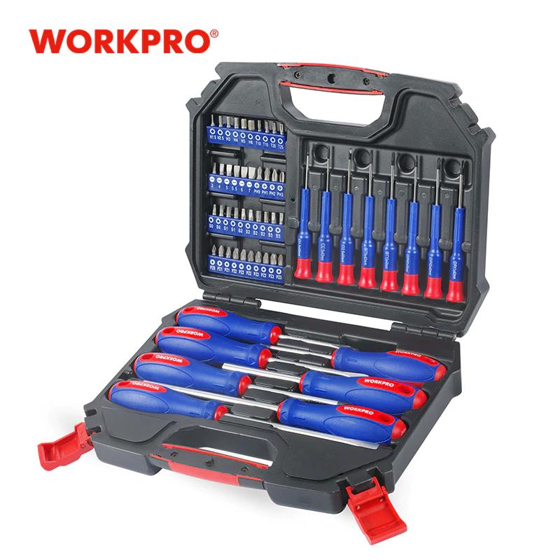 Kit Workpro destornilladores solo 13.7€ (desde España)