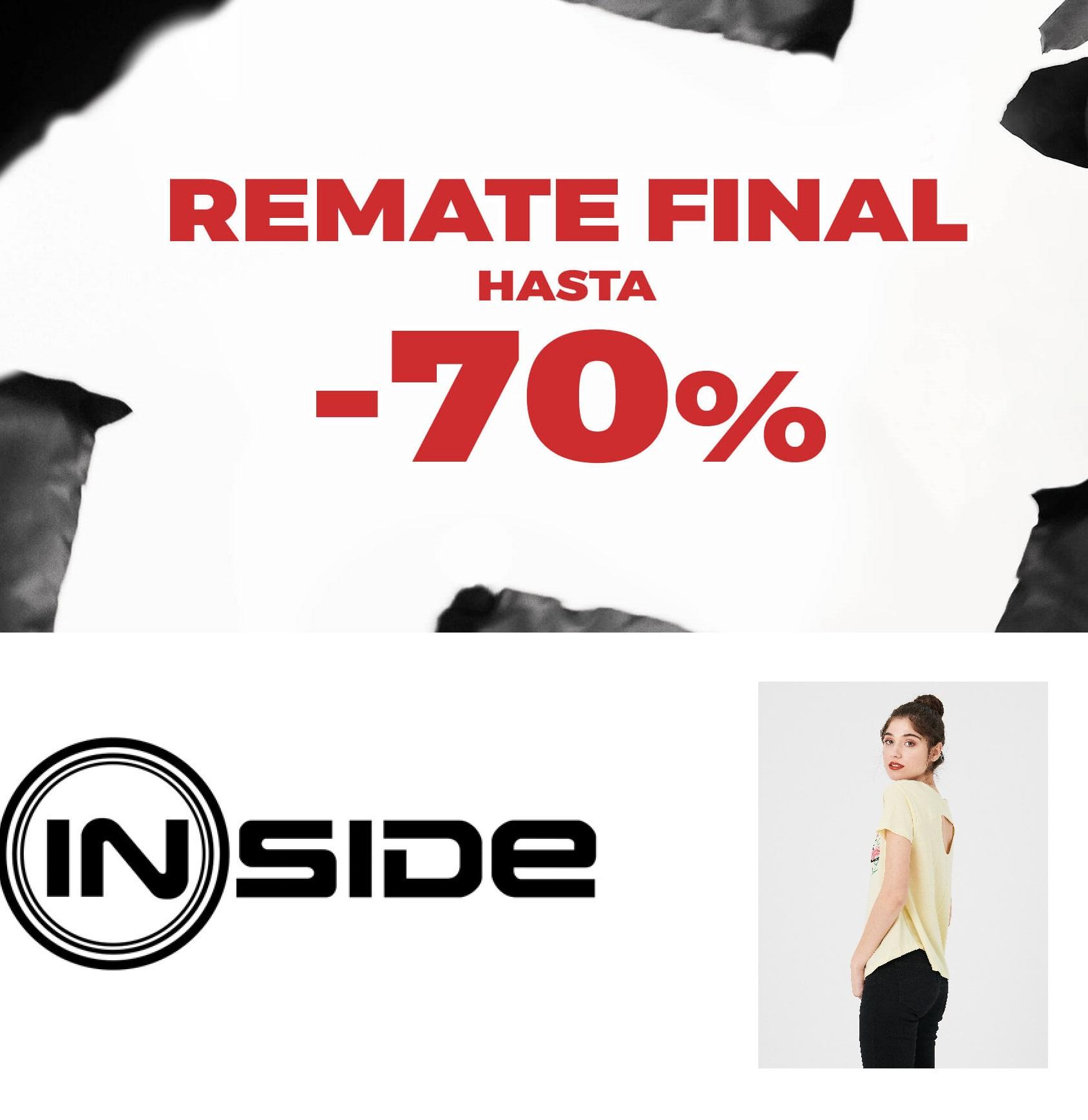 Camisetas Mujer INSIDE por menos de 3€