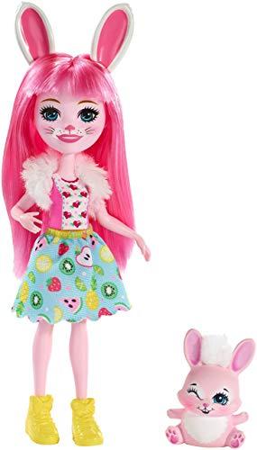 Muñecas enchantimals con mascota
