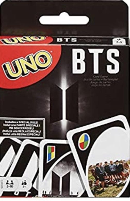 Games UNO BTS, juego de cartas