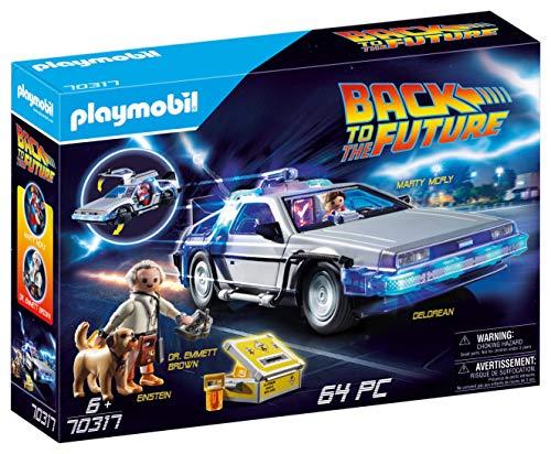 PLAYMOBIL- Back to The Future Delorean con Efectos de Luz