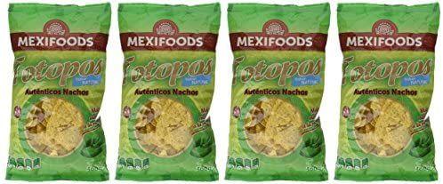 Mexifoods. Nachos de maiz. 4X300gr.