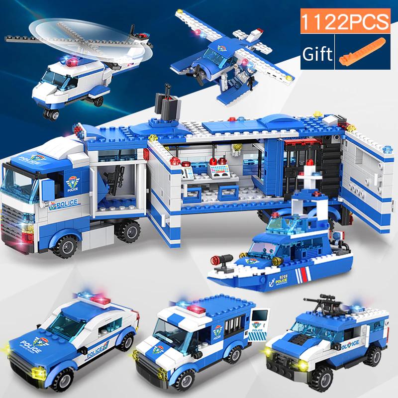 1122 piezas de SWAT de la policía desde 7.21€ 443pcs.