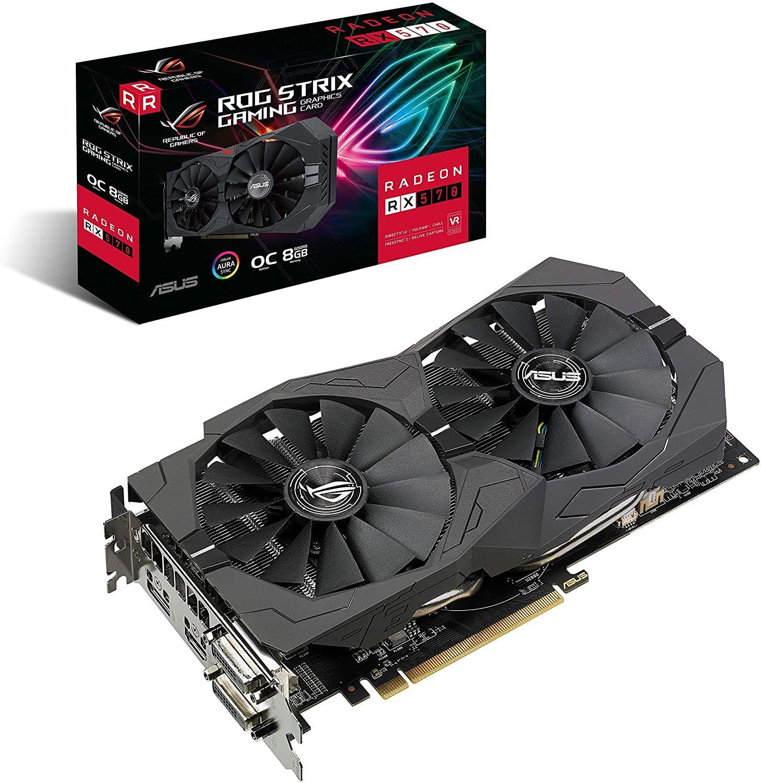 Asus ROG Strix Radeon RX 570 OC Gaming 8GB GDDR5
