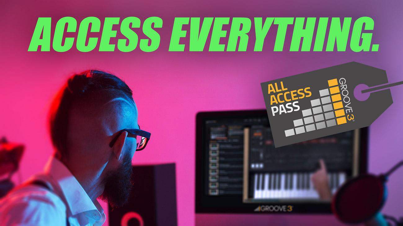 30 dias gratis Groove 3 aprende mezcla, grabacion, plugins, DAW, de todo sobre produccion musical
