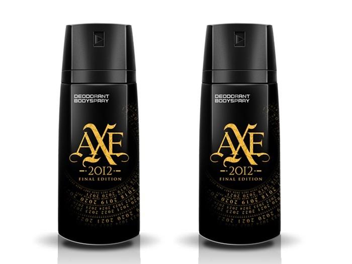 2x AXE Deospray 2012 Final Edition NEW Hombre 150ml
