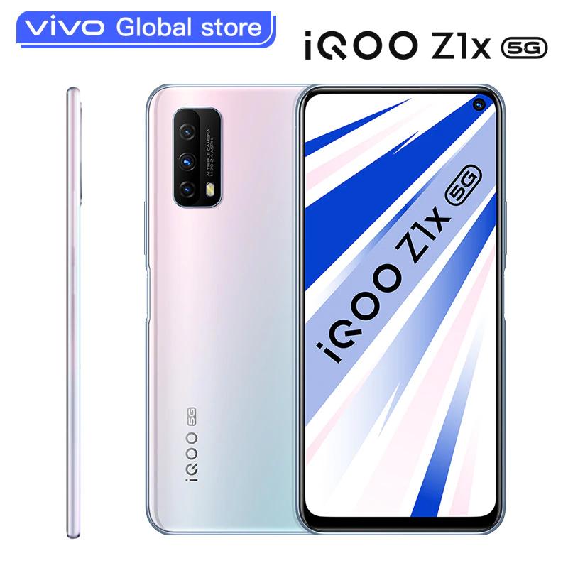 Smartphone Vivo iQOO Z1x 6GB 64GB 5G Snapdragon 765G Batería de 5000mAh 120Hz 33W