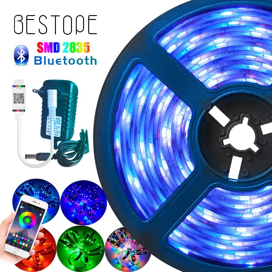 5m de Tiras LED RGB con MANDO y Adaptador Corriente Eléctrica con Cupón del Vendedor