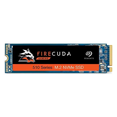 Seagate FireCuda 510, 1 TB, Disco duro interno SSD de alto rendimiento, SSD, PCIe Gen3 x4 NVMe 1.3 para ordenador y PC para videojuegos