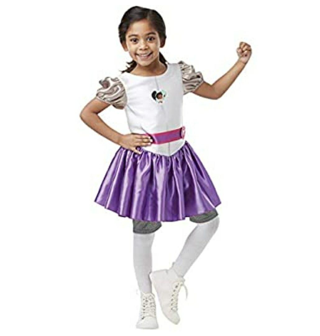 Nella The Knight - Disfraz de la Princesa Nella para niña, infantil talla S 3-4 años