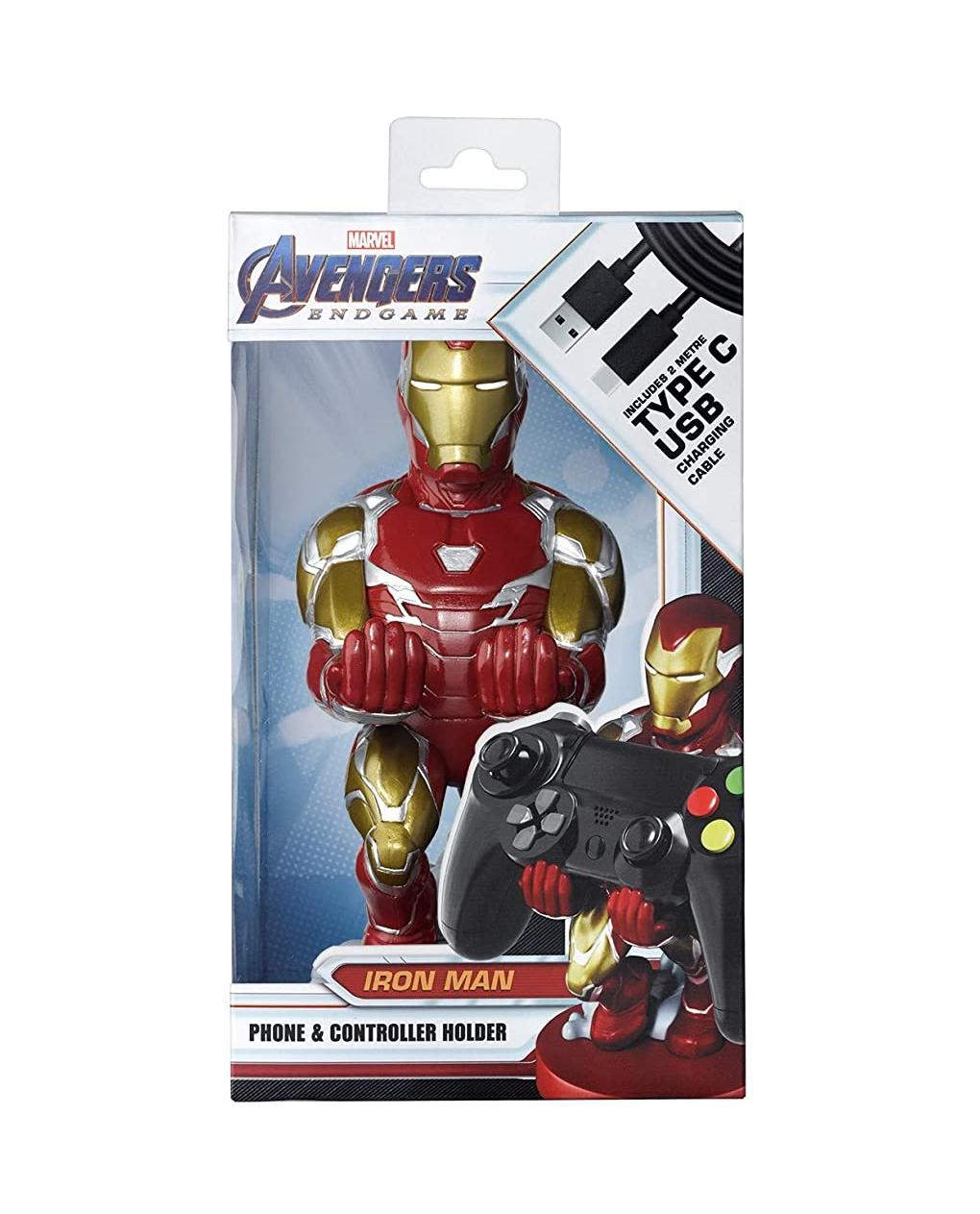 Soporte Iron Man para mando de consola o smartphone