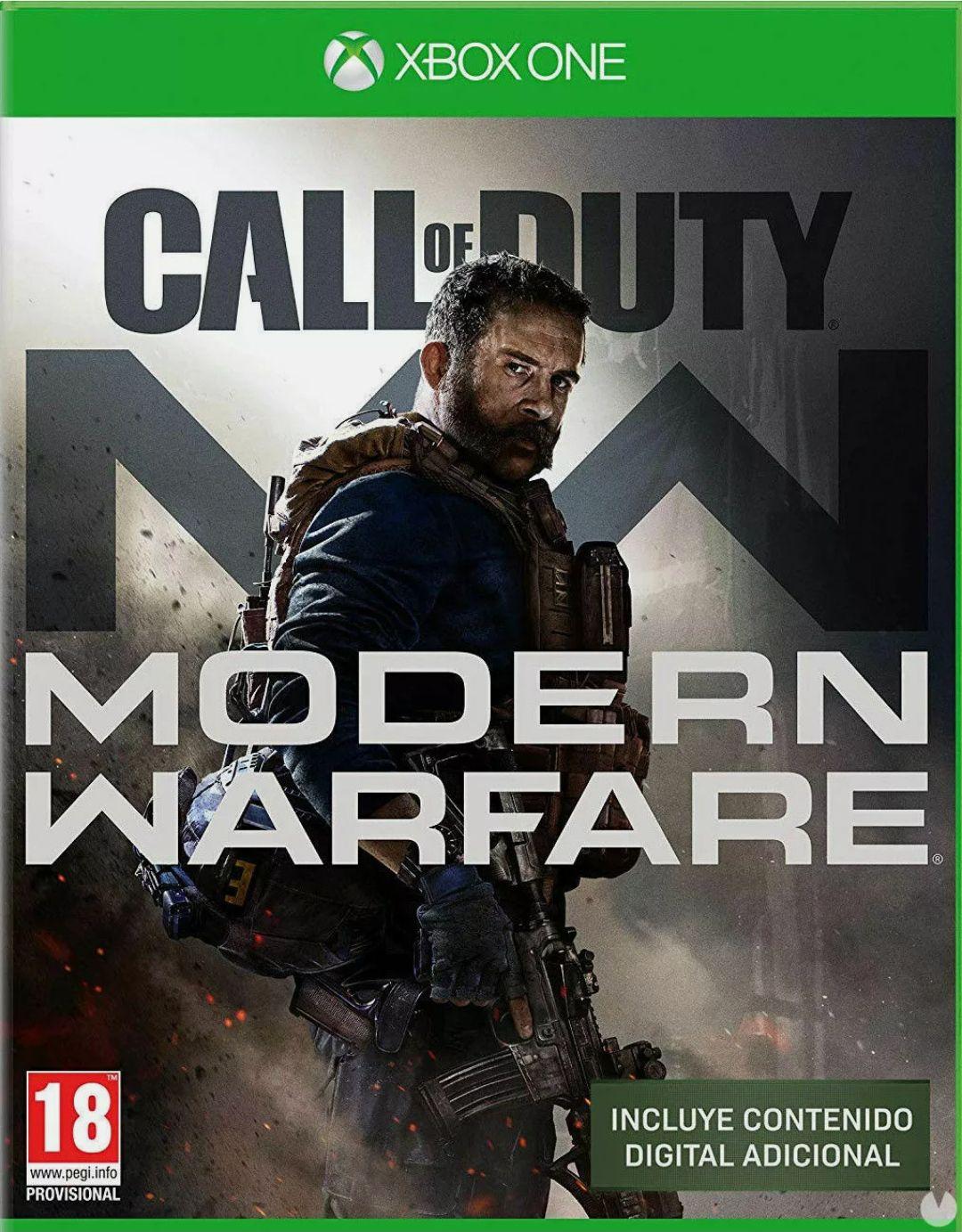 Call of Duty modern warfare Xbox box one (leer descripción) (Brasil)
