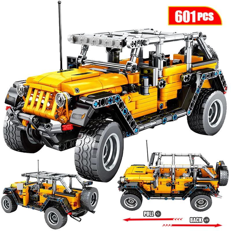 Vehículo Todoterreno de 601 bloques de construcción