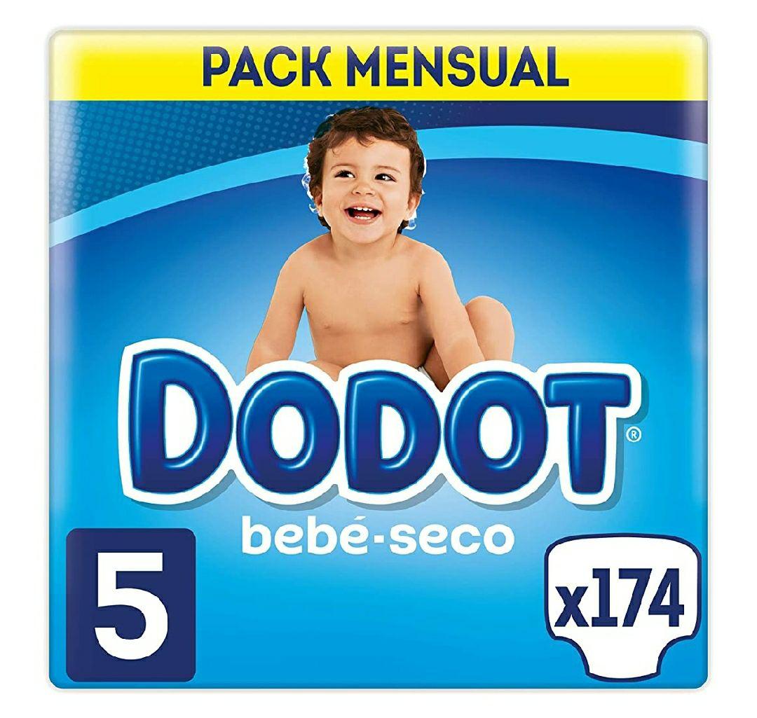 Dodot bebé seco talla 5 compra recurrente, 0'182 unidad