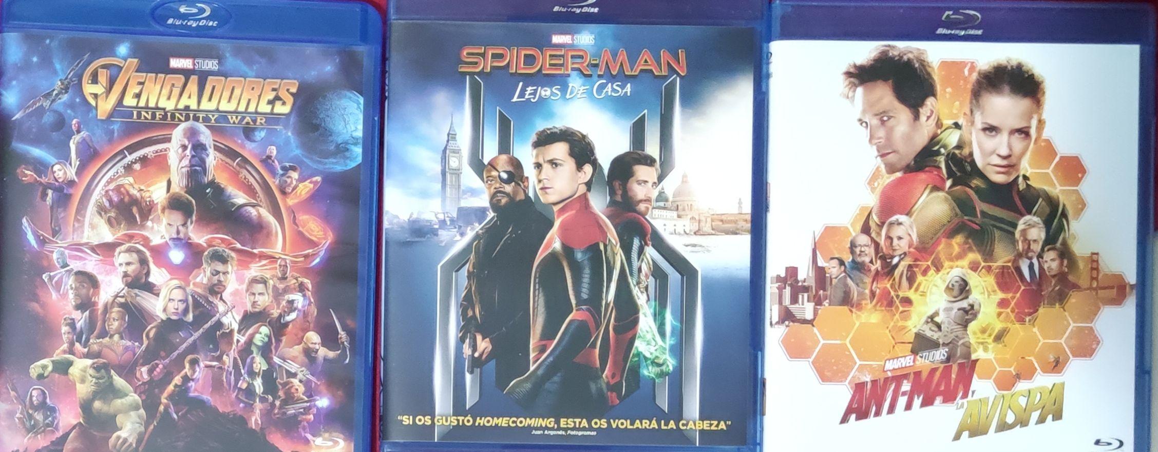 Varias películas marvel Carrefour vigo