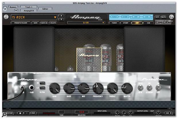 Gratis IK Ampeg SVX amplificador virtual para bajo Sonido Profesional!